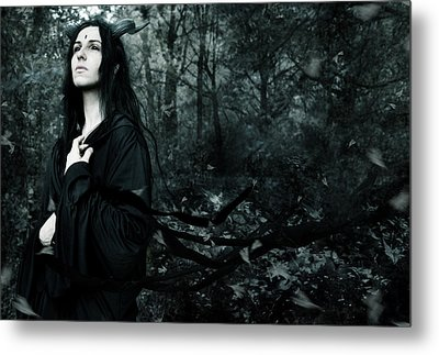 Forest Demon Metal Print by Cambion Art