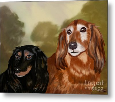 Forever Friends Metal Print by Linda Marcille