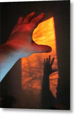 Forever Living Hands Metal Print by Guy Ricketts