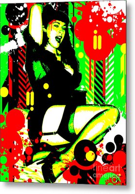 Forever Pinup I Metal Print by Chris Andruskiewicz