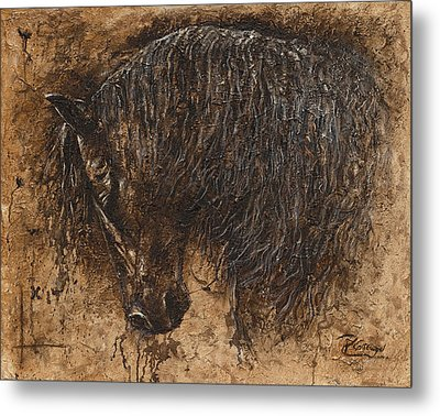 Forgiven Metal Print by Paula Collewijn -  The Art of Horses