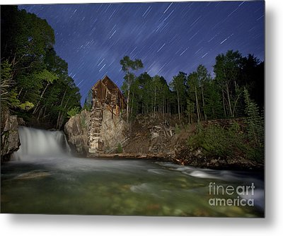 Forgotten Mill Metal Print by Keith Kapple