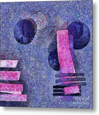 Formes - 18a Metal Print by Variance Collections