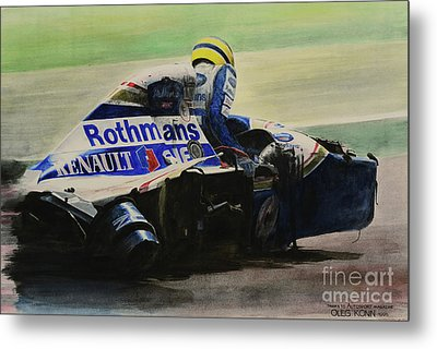 Formula - Alone Metal Print by Oleg Konin