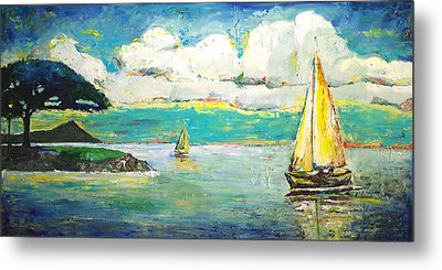 Foster's Point Metal Print by Jo Gerrior