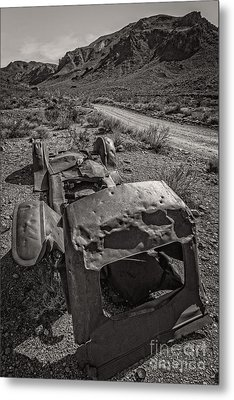 Found On Road Dead Metal Print by Charles Dobbs