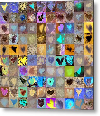 Four Hundred Series  Metal Print by Boy Sees Hearts