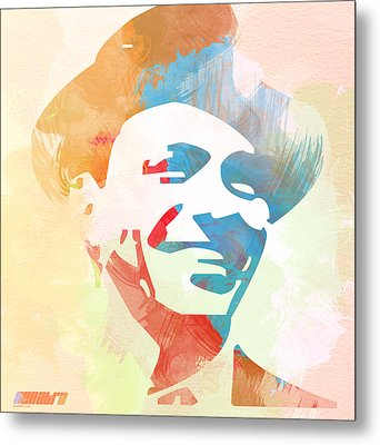 Frank Sinatra Metal Print by Naxart Studio
