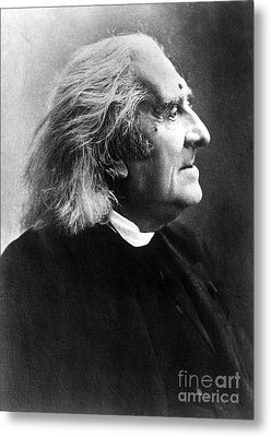 Franz Liszt, Hungarian Composeir Metal Print by Science Source