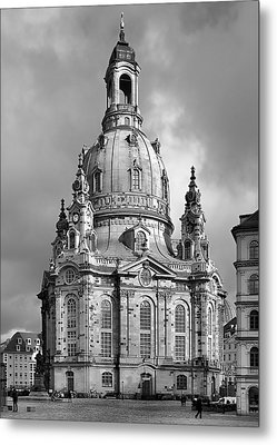 Frauenkirche Dresden - Church Of Our Lady Metal Print by Christine Till