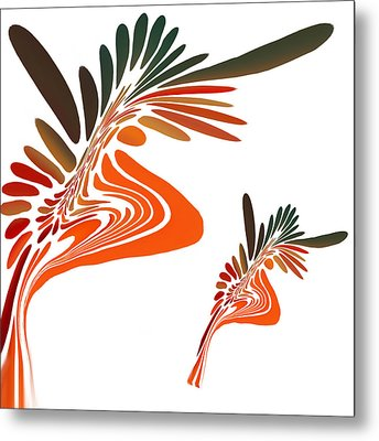 Freedom Abstract Metal Print by Art Spectrum
