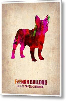 French Bulldog Poster Metal Print by Naxart Studio