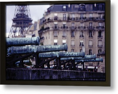 French Canons Metal Print by Don Wolf