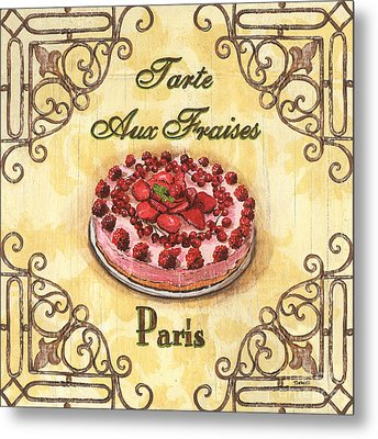 French Pastry 1 Metal Print by Debbie DeWitt