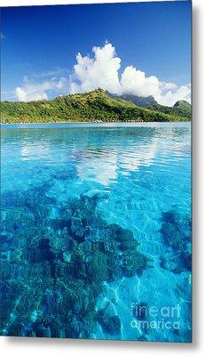 French Polynesia, View Metal Print by Joe Carini - Printscapes