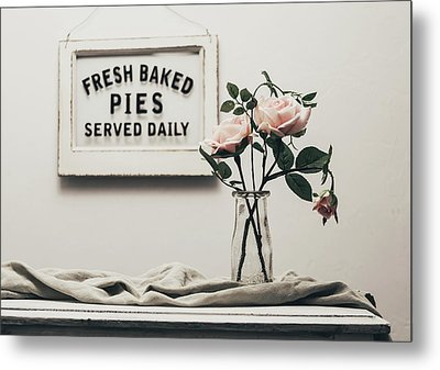 Fresh Baked Metal Print by Kim Hojnacki