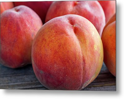 Fresh From The Orchard Metal Print by Teri Virbickis