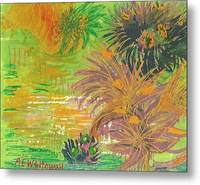 From Tahiti With Love Metal Print by Anne-Elizabeth Whiteway