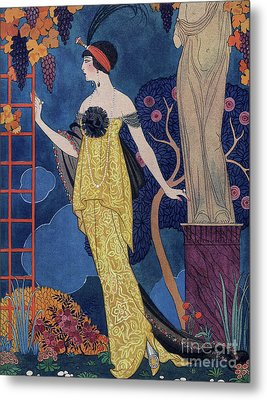 Front Cover Of Les Modes Metal Print by Georges Barbier