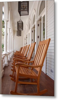 Front Porch Metal Print by Kelly Wade