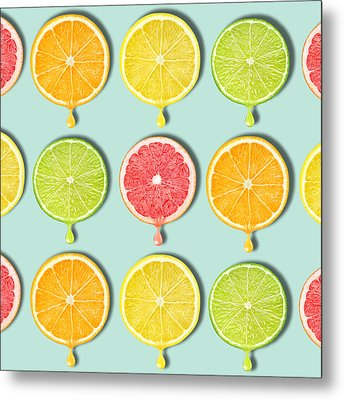 Fruity Metal Print by Mark Ashkenazi