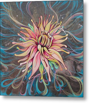 Full Bloom Metal Print by Shadia Zayed