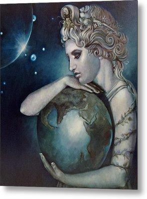 Gaia Metal Print by Geraldine Arata