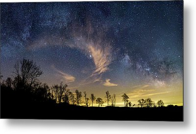 Galactic Skies Metal Print by Bill Wakeley