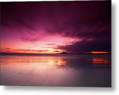 Galapagos View At Sunset Metal Print by Andre Distel Photography