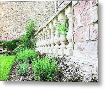 Garden Wall Metal Print by Tom Gowanlock