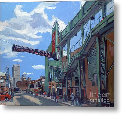 Gate C Metal Print by Deb Putnam