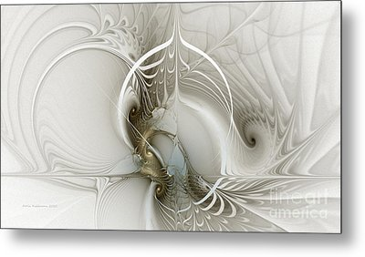 Gateway To Heaven-fractal Art Metal Print by Karin Kuhlmann