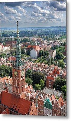Gdansk Metal Print by Jaroslaw Grudzinski