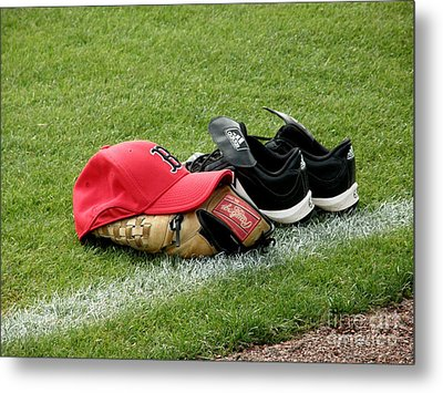 Gear At Rest Metal Print by Carol Christopher