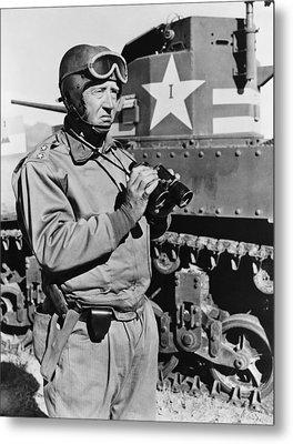 General George S. Patton 1885-1945 Metal Print by Everett