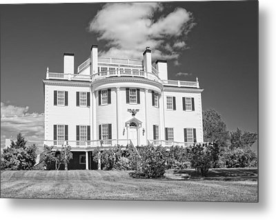 General Henry Knox Estate Thomaston Maine B And W Photo Metal Print by Keith Webber Jr
