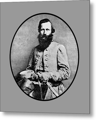 General Jeb Stuart Metal Print by War Is Hell Store