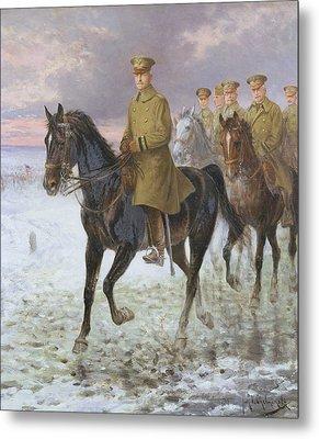 General John J Pershing  Metal Print by Jan van Chelminski
