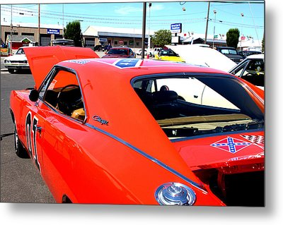 General Lee Metal Print by Fine Art Photography By Stephanie