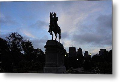 General Washington Rides Metal Print by Eliot Jenkins