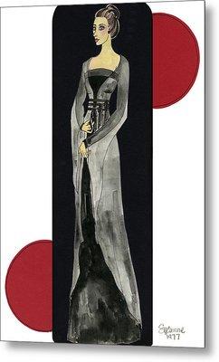 Genevieve Metal Print by Suzanne Blender