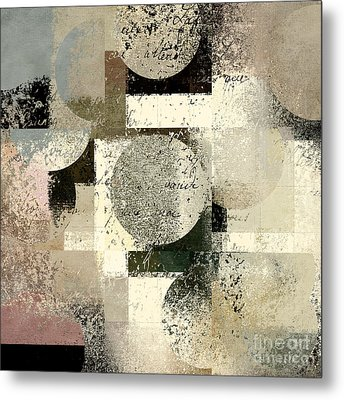Geomix - C133et02b Metal Print by Variance Collections