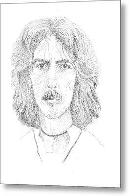 George Harrison Metal Print by Terry Adamick