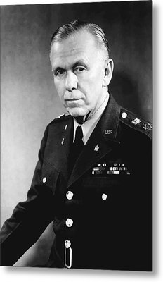 George Marshall Metal Print by War Is Hell Store