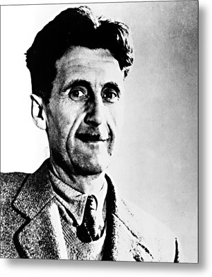 George Orwell, Circa 1949 Metal Print by Everett