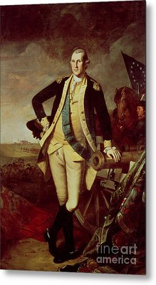 George Washington At Princeton Metal Print by Charles Willson Peale