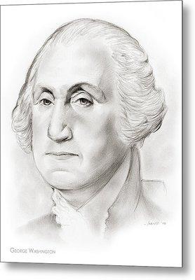 George Washington Metal Print by Greg Joens