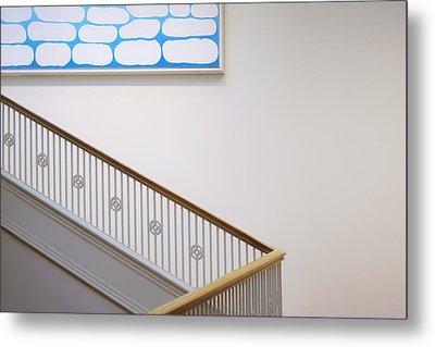 Georgia O'keeffe - Above Stairs Metal Print by Nikolyn McDonald