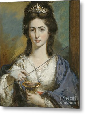 Georgiana Spencer Duchess Of Devonshire Metal Print by Celestial Images