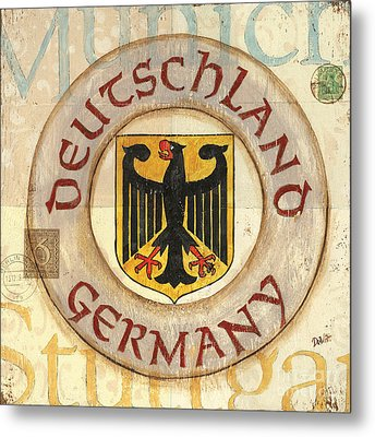 German Coat Of Arms Metal Print by Debbie DeWitt